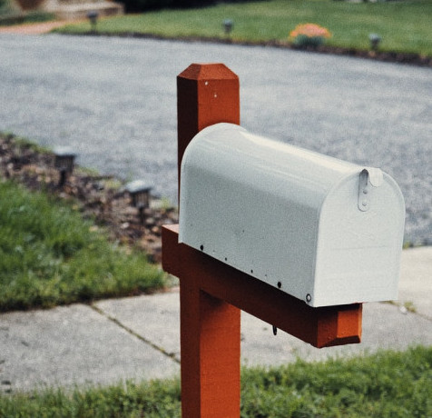 mailbox with money in it
